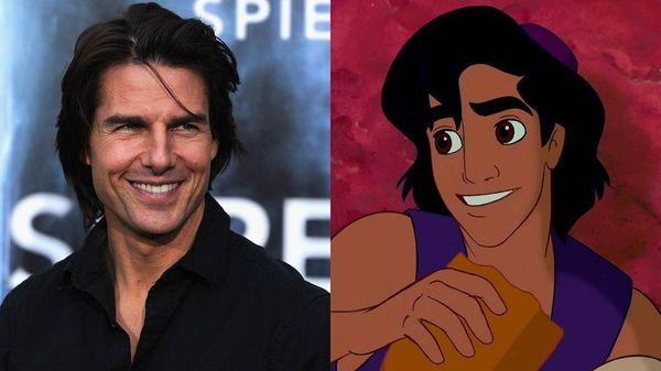 Nam tài tử Tom Cruise - Aladdin.