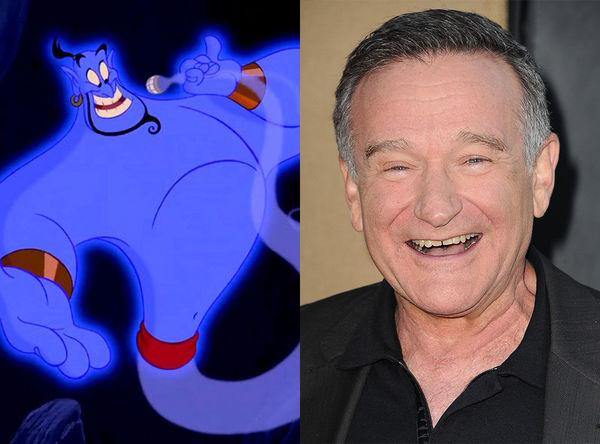 Robin Williams vẫn mãi là Thần đèn được yêu thích nhất.