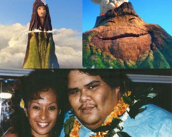 Uku và Lele dựa trên hình tượng vợ chồng nhà Kamakawiwo'ole.