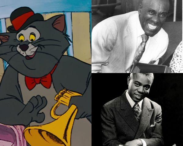 Scat Cat là sự kết hợp của Louis Armstrong và Scatman Crothers.