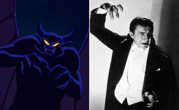 Đâu đó hình dáng tương đồng giữa Chernabog và Bela Lugosi.