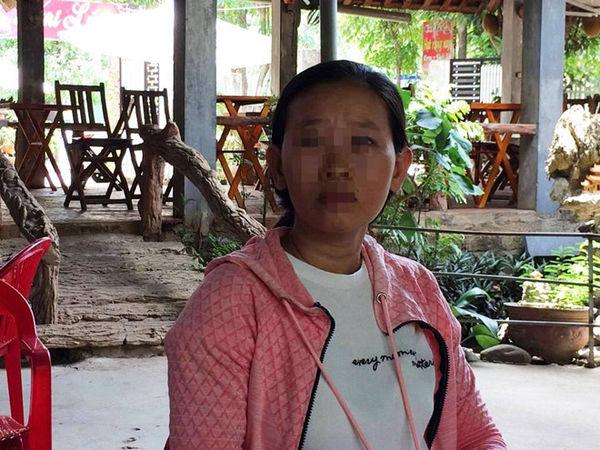 Cô giáo D.T.K.O kể lại vụ việc bị lừa 25 triệu đồng. Ảnh: báo Thanh Niên