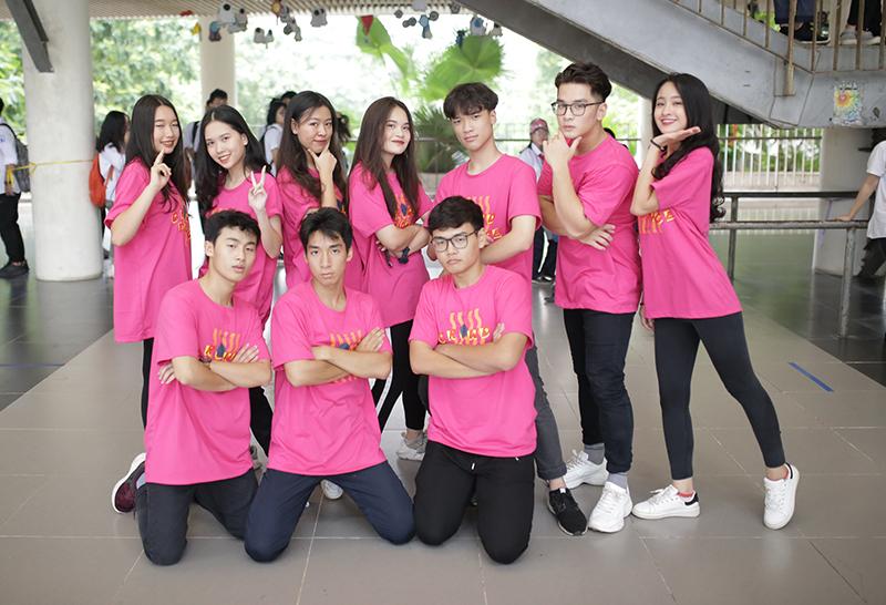Top 10 thí sinh xuất sắc nhất cuộc thi tìm kiếm Đại sứ của trường sẽ tranh tài vào đêm chung kết diễn ra vào tháng 9 tới