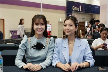 Katleen Phan Võ đọ sắc cùng 'thánh nữ Bolero' Jang Mi tại Seoul, Hàn Quốc 2
