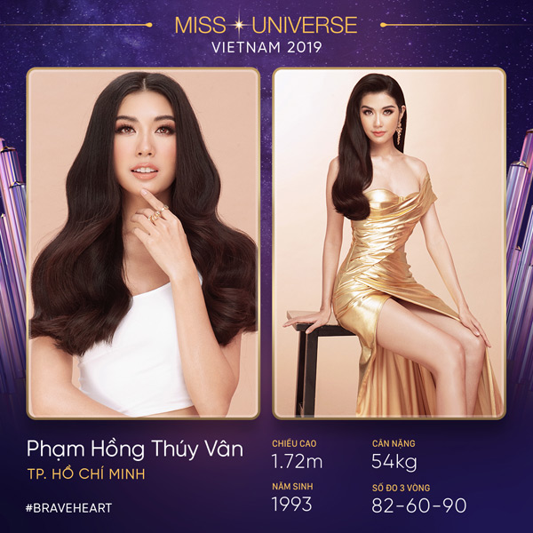 Thông tin Thúy Vân trở lại thi Hoa hậu Hoàn vũ Việt Nam 2019 được đăng tải trên fanpage của cuộc thi.