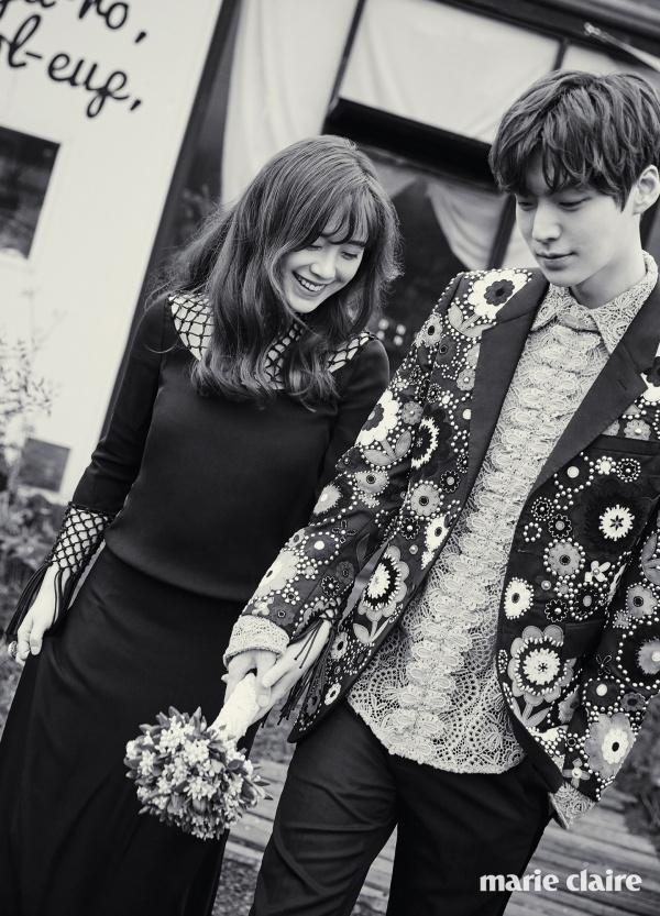 Trước khi bóc phốt nhau qua lại, Goo Hye Sun và Ahn Jae Hyn là cặp vợ chồng vạn người mê, triệu người ghen tị.