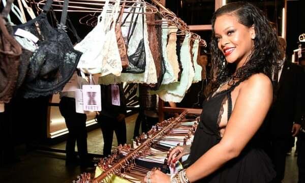 Rihanna gặt hái nhiều thành công với hãng thời trang nội y.