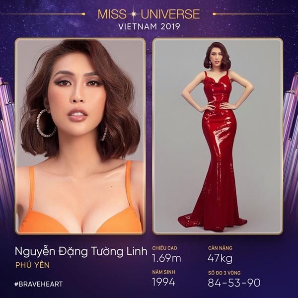 Cách đây vài giờ, fanpage chính thức của Miss Universe Vietnam đã đăng tải thông tin Tường Linh là thí sinh của cuộc thi.