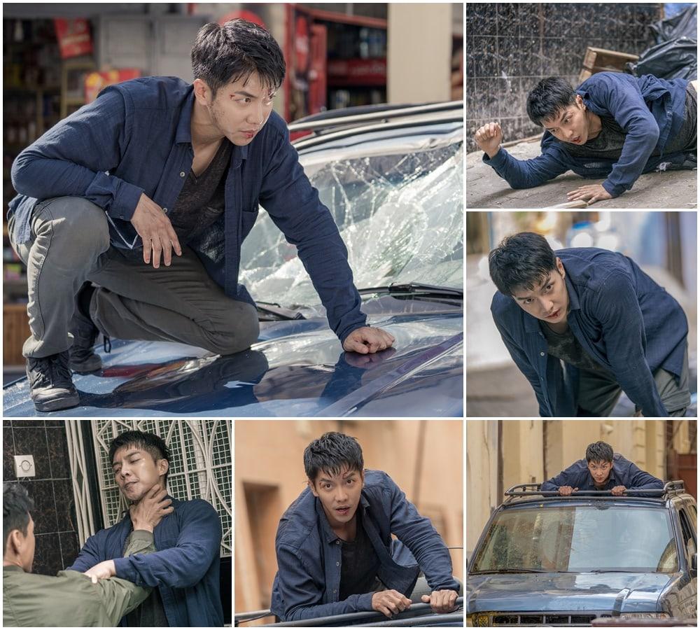 Những pha hành động tự mình Lee Seung Gi thực hiện, không dùng diễn viên đóng thế