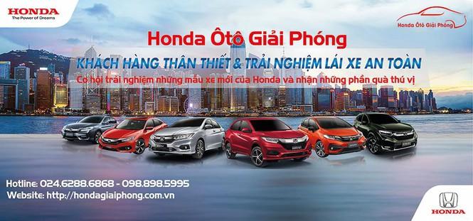 Honda ô tô Giải Phóng tổ chức lái thử xe an toàn ngày 21/09