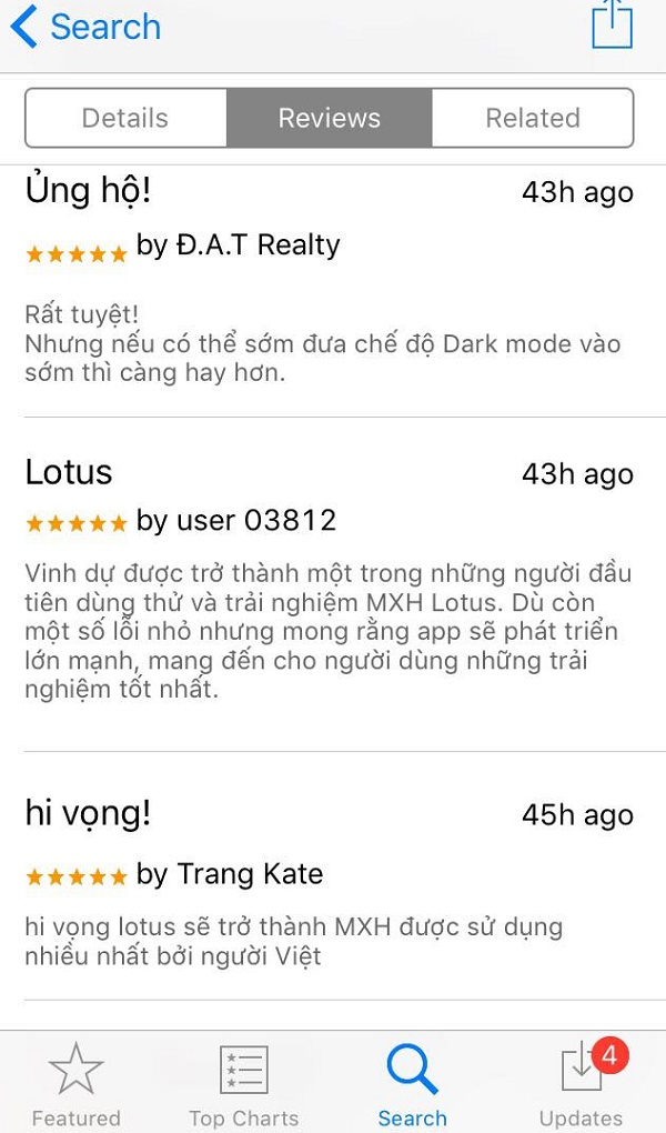 Gây chú ý lớn, nhưng MXH mới của Việt Nam vẫn liên tục bị người dùng 'nhặt sạn' 8