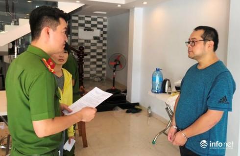 Công an Đà Nẵng công bố lệnh bắt khẩn cấp và tạm giam đối với Trương Huệ Mẫn, đối tượng cầm đầu vụ việc.