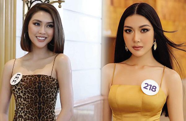 Hoa hậu Tường Linh và Á hậu Thuý Vân. Ảnh: TL