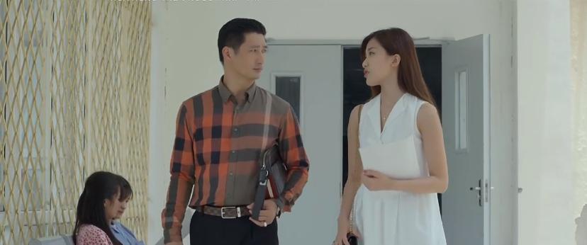 'Hoa hồng trên ngực trái' tập 14: Cạn lời, bà Hồng tuyên bố thà ở với Khuê còn hơn ở với Thái nếu Thái khăng khăng ly hôn vợ 3