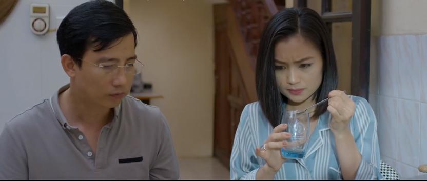 'Hoa hồng trên ngực trái' tập 14: Cạn lời, bà Hồng tuyên bố thà ở với Khuê còn hơn ở với Thái nếu Thái khăng khăng ly hôn vợ 17