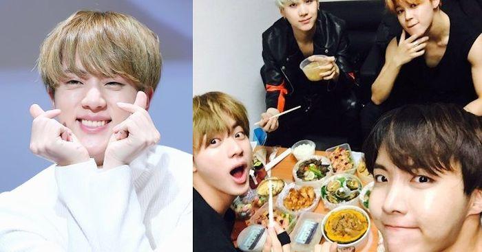 Jin (BTS) có thể là một triệu phú, nhưng khi tụ tập với bạn bè vẫn thích dùng cách này để xem ai phải trả tiền ăn 0
