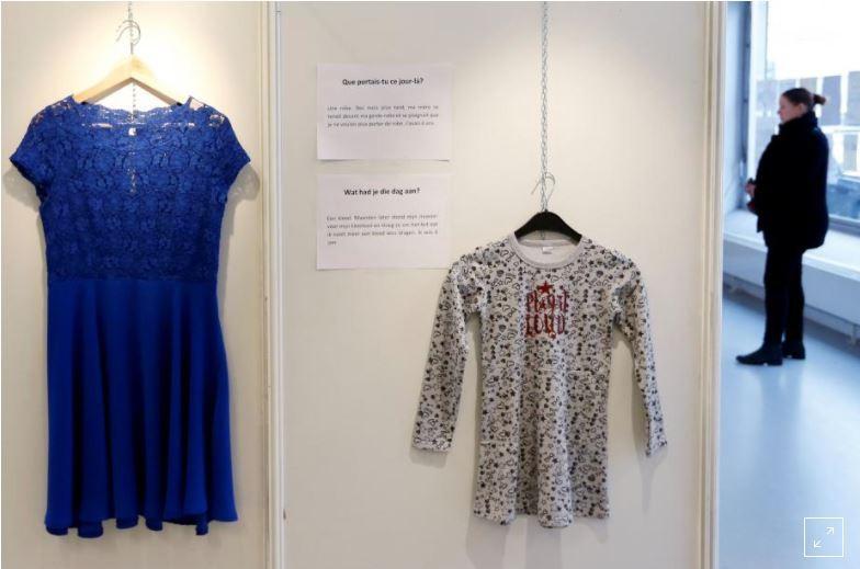 Bỉ mở triển lãm những trang phục của nạn nhân hiếp dâm để chứng minh việc ăn mặc không là nguyên nhân khiến phụ nữ bị cưỡng bức 1