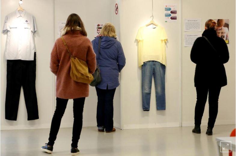 Bỉ mở triển lãm những trang phục của nạn nhân hiếp dâm để chứng minh việc ăn mặc không là nguyên nhân khiến phụ nữ bị cưỡng bức 6