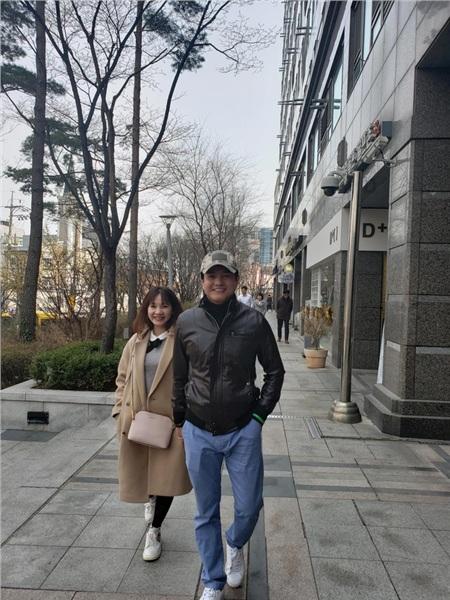 Sau gần 3 năm kết hôn, vợ chồng Cao Minh Đạt vẫn rất hạnh phúc và đang mong chờ 1 đứa con