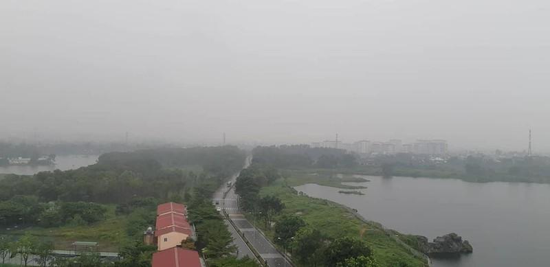 Theo kết quả của Trung tâm nghiên cứu ô nhiễm không khí và Biến đổi khí hậu, Viện Môi trường và Tài nguyên thì cháy rừng từ Indonesia là nguyên nhân gây ô nhiễm không khí ở TP.HCM. Ảnh: TL