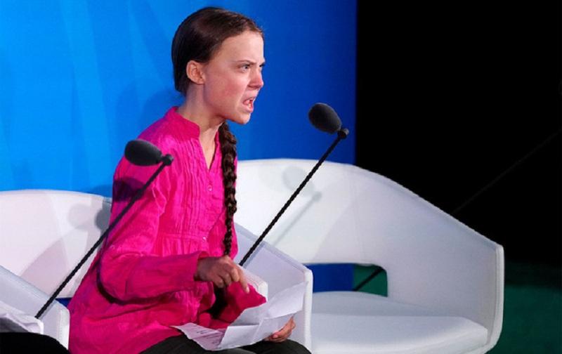 Greta Thunberg – nhà hoạt động nhí 16 tuổi