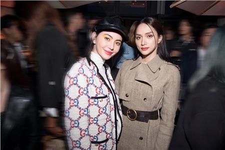 Hóa thân thành quý cô Pháp thanh lịch cổ điển, Hoa hậu Hương Giang có dịp đọ sắc cùng 'ma nữ đẹp nhất màn ảnh Thái Lan' - Mai Davika.