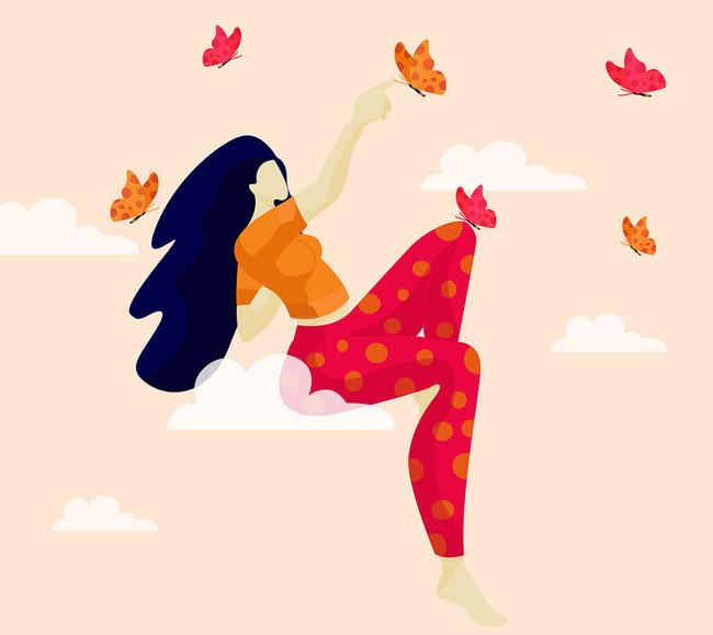 Tranh minh họa: Sushama Patel