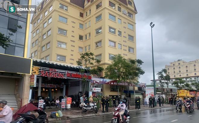 Hàng trăm cán bộ chiến sĩ công an bao vây trụ sở công ty Alibaba.