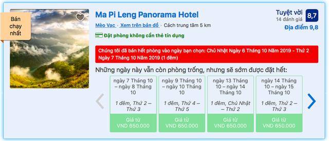 Nghịch lý vụ Panorama Hotel trên đèo Mã Pì Lèng: Dân mạng bức xúc hò nhau vote 1 sao, khách sạn vẫn 'cháy hàng' 2