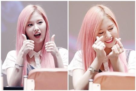 Màu tóc hồng pastel dường như sinh ra để dành cho Sana thì phải. Ngay cả khi cô nàng makeup 'sương sương' với màu son hồng nhẹ nhàng cũng lên hình đẹp mê mẩn như thế này!