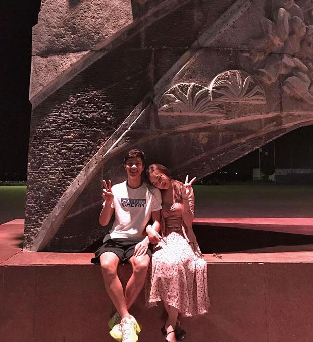 Văn Đức và bạn gái Nhật Linh
