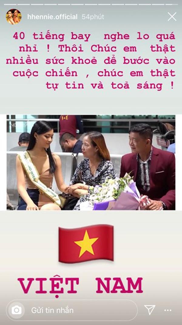 Kiều Loan bay 40 tiếng dự thi Miss Grand International 2019, H'Hen Niê quyết định làm ngay điều này 1