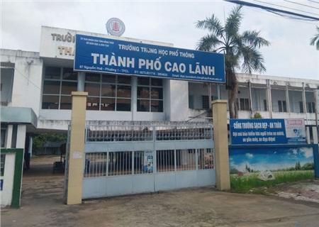 Trường THPT TP Cao Lãnh