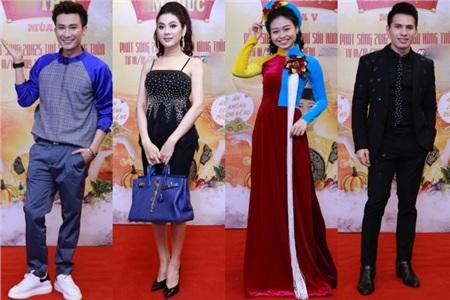 Chí Thiện, Lâm Khánh Chi, Lê Lộc và Quốc Thiên tại sự kiện