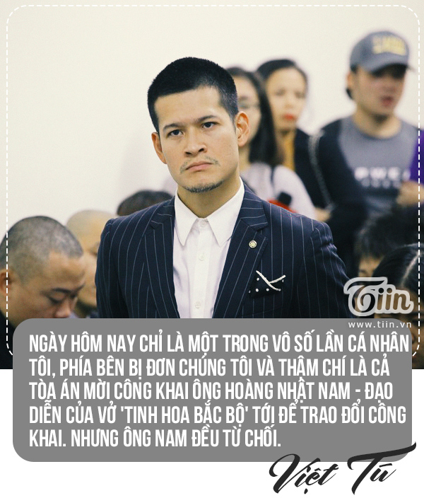 Tranh chấp giữa vở 'Ngày xưa' và 'Tinh hoa Bắc Bộ', hai đạo diễn Việt Tú, Hoàng Nhật Nam nói gì? 3