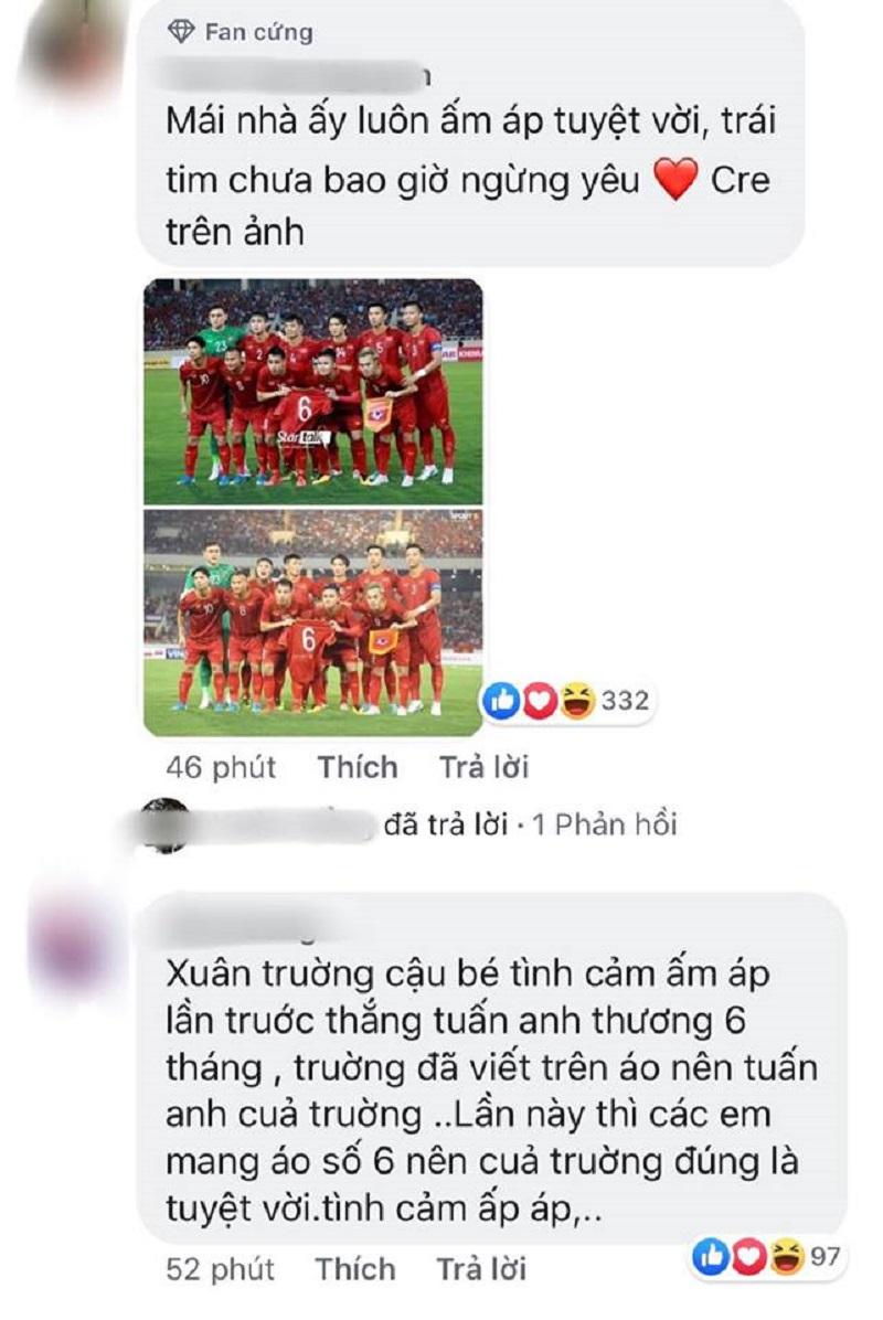 Vắng mặt vì chấn thương, Xuân Trường được đồng đội và các fan tri ân không thể ngọt ngào hơn 3