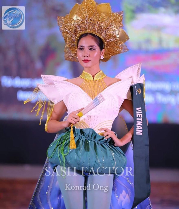 Hoàng Hạnh đạt Huy chương đồng 'trang phục dân tộc' tại Miss Earth 2019 3