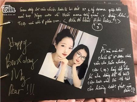 Món quà Bảo Ngọc tặng Hiền nhân dịp sinh nhật, chứa đầy kỷ niệm của cả hai