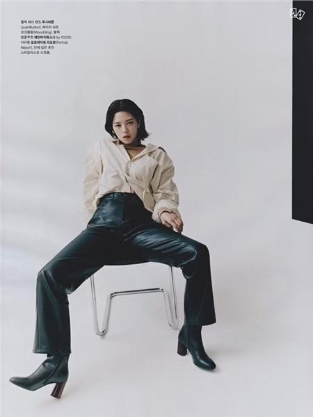 Thành viên 'kém nổi' của Twice đượckhen nức nở vì thần thái chụp ảnh tạp chí chẳng thua gì mẫu chuyên nghiệp 3