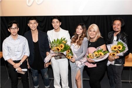 Quán quân Next Top Quang Hùng, Katleen Phan Võ chúc mừng Nhâm Phương Nam ra MV đầu tay 6