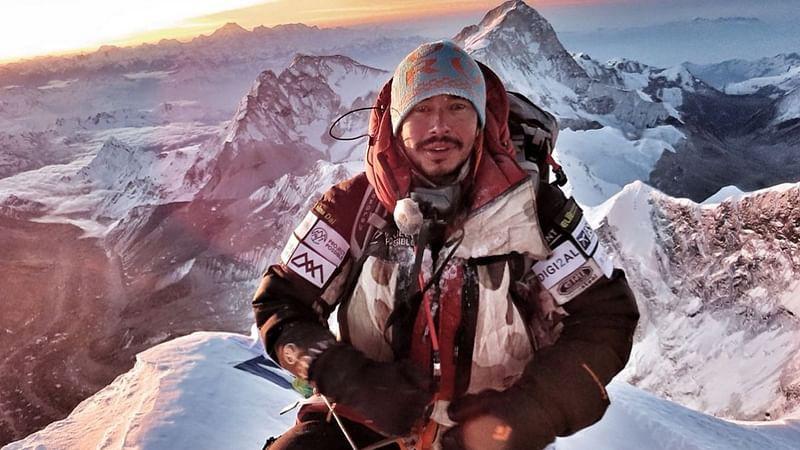 Anh Nirmal Purja, người vừa lập kỳ tích chinh phục 14 đỉnh núi cao nhất thế giới trong 189 ngày. Ảnh: BBC