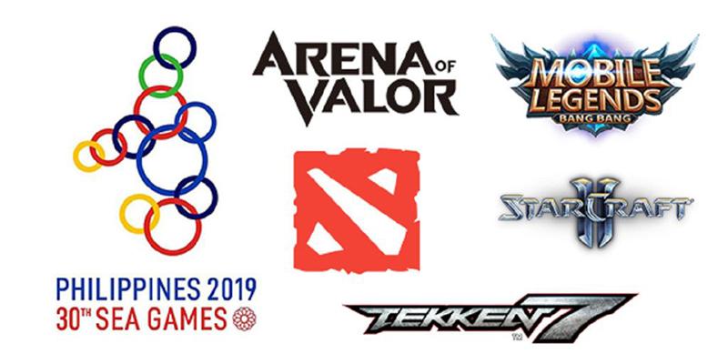 6 tựa game sẽ xuất hiện tại SEA Games 30 tới.