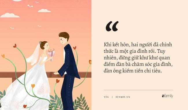 Đừng nói tình yêu thay đổi sau khi kết hôn, rồi đến lúc bạn sẽ nhận ra sức mạnh của 'gạo, mắm, muối' chính là thứ giúp phụ nữ 'lột xác' ngoạn mục 2