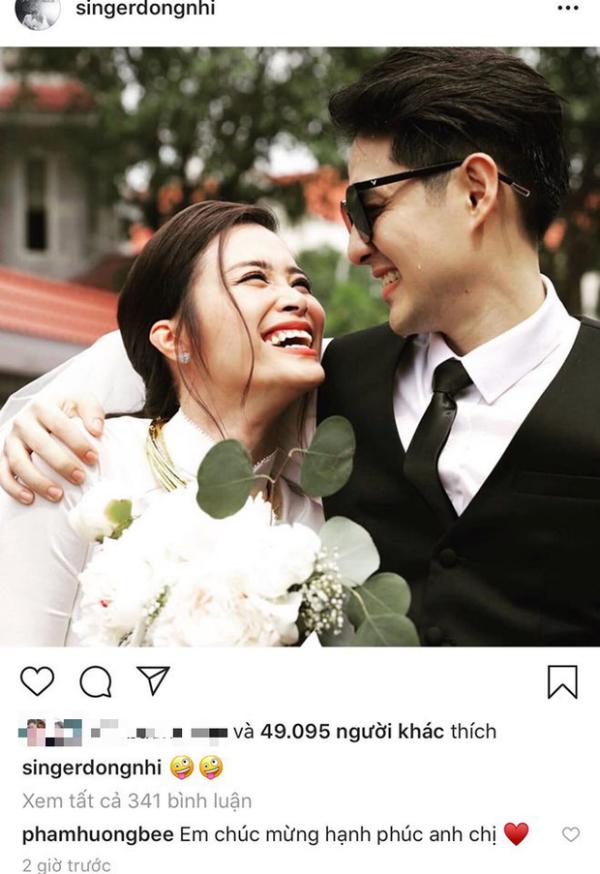 Hàng loạt sao Việt cũng vui mừng, xúc động khi thấy Đông Nhi -  Ông Cao Thắng 'về một nhà' sau 10 năm chung đôi 5