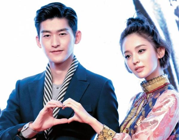 Trương Hàn và Cổ Lực Na Trát.