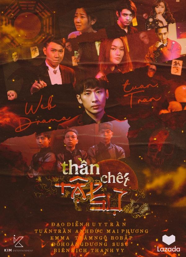 Sau hình ảnh ngôn tình, Tuấn Trần xuất hiện với vẻ ngoài bê bết máu trong teaser web drama mới 1