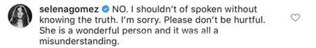 Nhưng sau đó, nữ ca sĩ đã xin lỗi vì sự hiểu nhầm này.