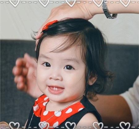 Con gái thứ hai của Hoài Lâm có tên thân mật là Cún.