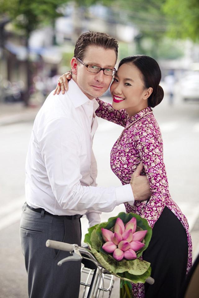 Đoan Trang và chồng