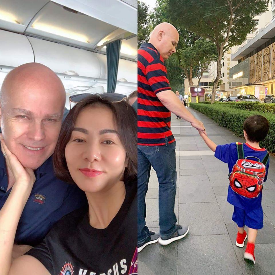 Trên các trang mạng xã hội, Thu Minh thường chia sẻ những hình ảnh cuộc sống thường nhật của mình và gia đình.